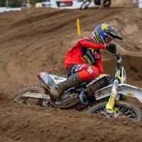 Kay de Wolf raakt geblesseerd in laatste EMX250 wedstrijd in Lommel