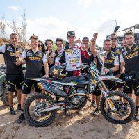 Kay de Wolf pakt derde podiumplaats van het seizoen in GP MX2 in Sardinie